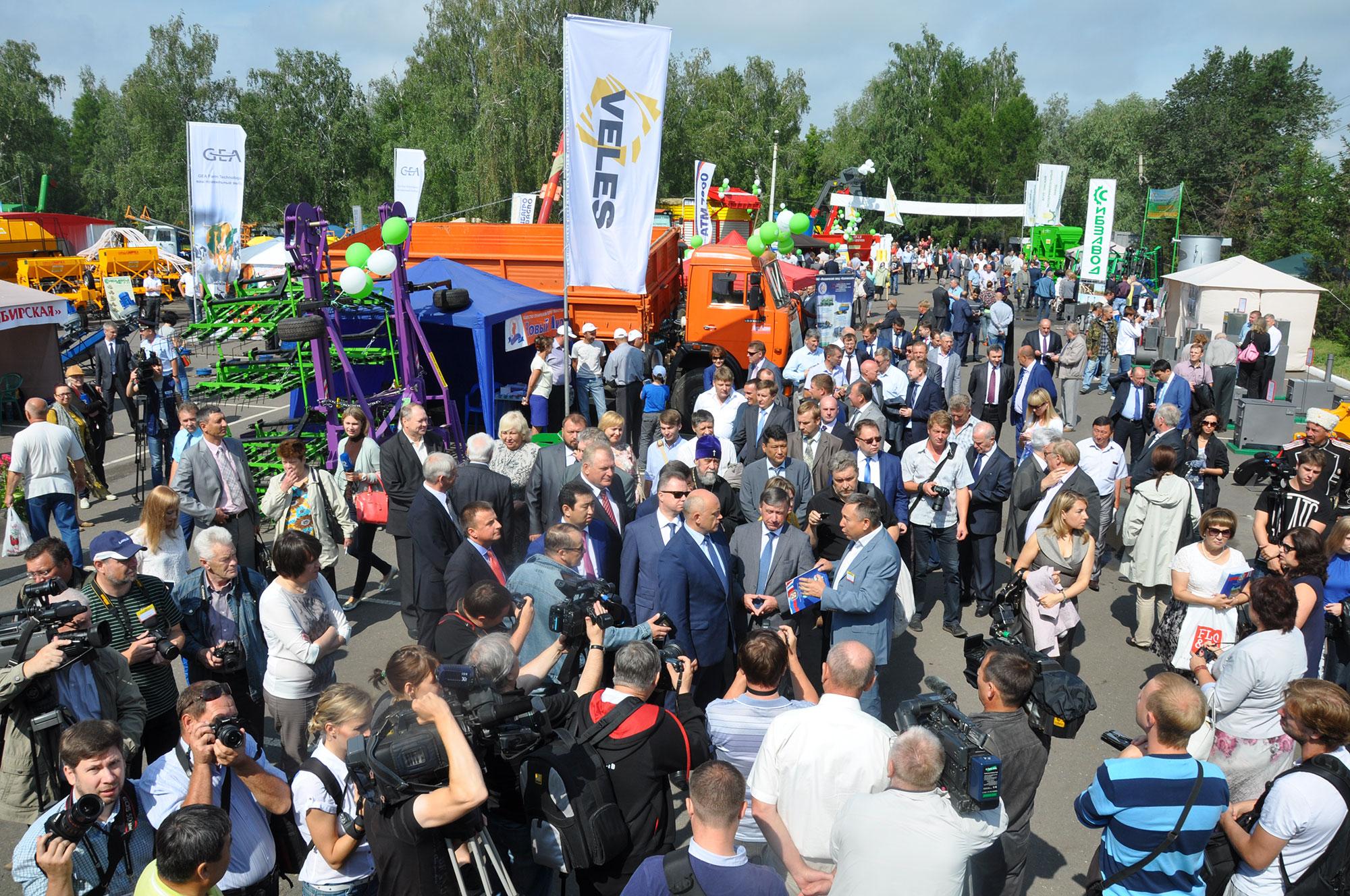 XIII Сибирская агротехническая выставка-ярмарка «АгроОмск-2015»