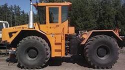 трактор для сибирских полей