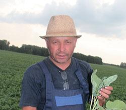 Владимир Морозов, глава КФХ «Морозов», Мошковский район Новосибирской области